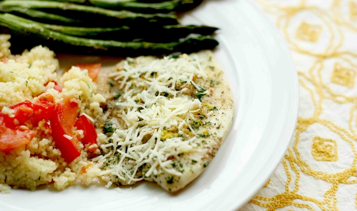Lemon Garlic Tilapia. I substituted rosemary for parsley and it was ...