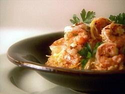 Shrimp Scampi on Couscous | Nom Nom | Pinterest