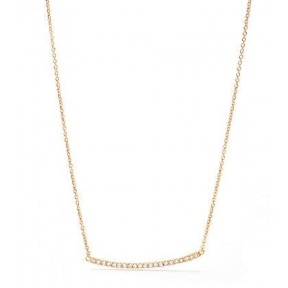 gorjana pave necklace