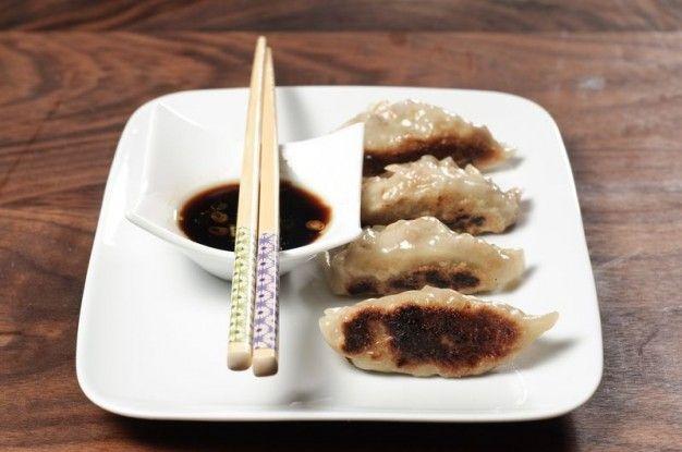 Vegetarian Potstickers (Gyoza) – Recipe