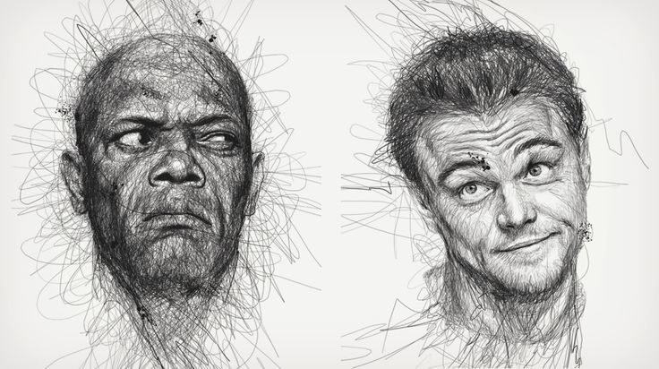 Scribble Drawing Portraits : Scribble drawings sketches to savor pinterest