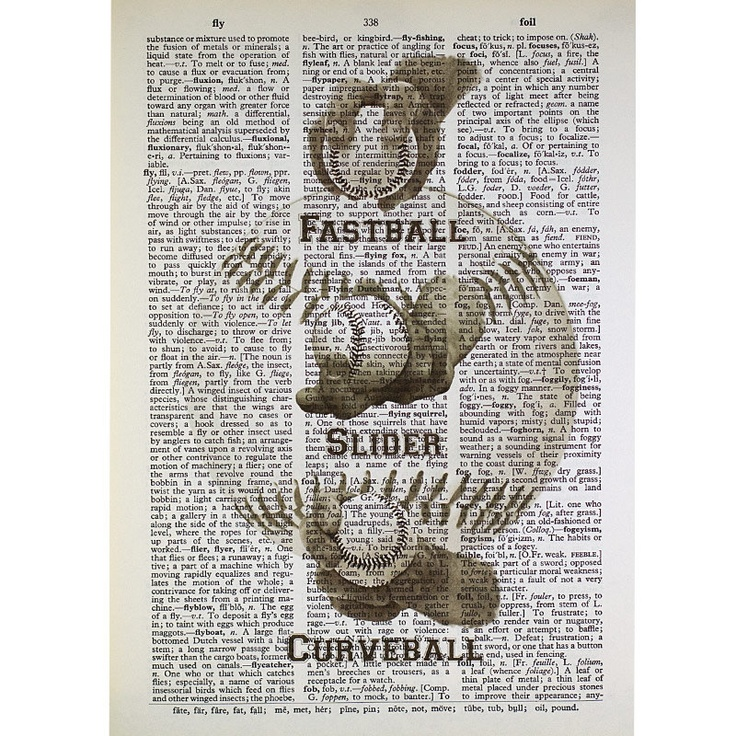 Artwork for Vintage Sports Room - Baseball Pitcher  | Living room