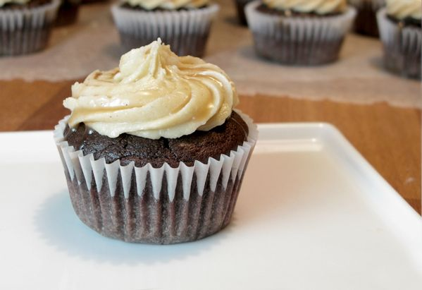 Chocolate Bourbon Cupcakes | Cupcakes and Portable Desserts | Pintere ...
