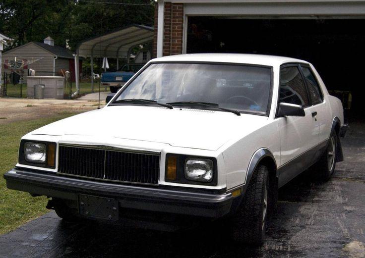 1983 Buick Skylark T Type Subcompact Amp Compact American