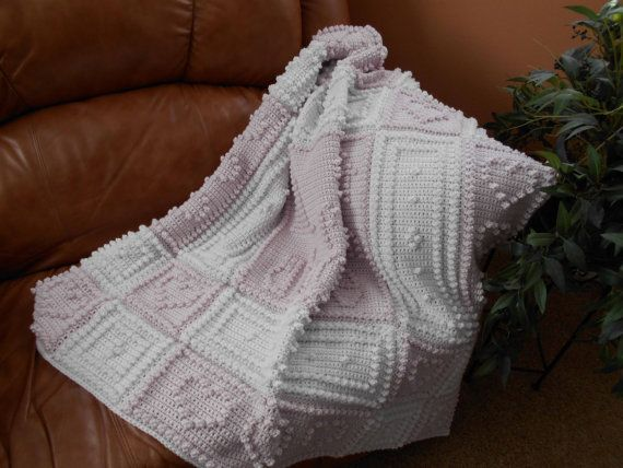 COUNTRY pattern for crocheted blanket by ColorandShapeDesign