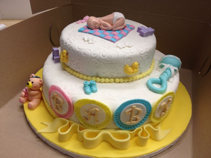 Baby Shower Cake - Gender Unknown