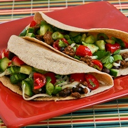 Kalyn's Kitchen: Recipe for Spicy Beef and Black Bean Soft Tacos with ...