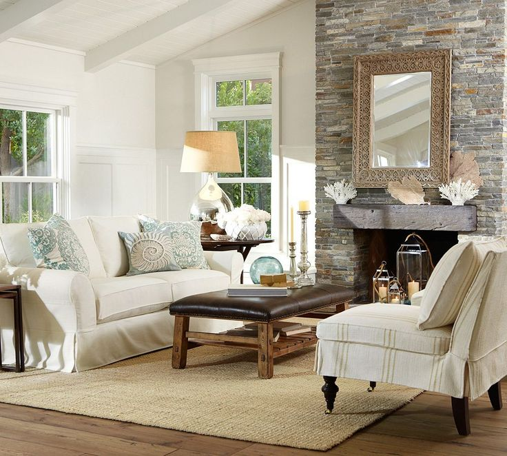 Pin By Pottery Barn On Living Rooms By Pottery Barn Pinterest
