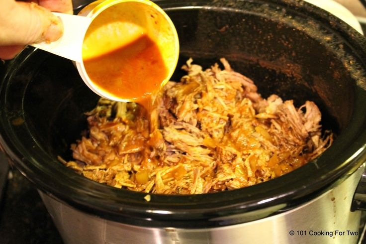... For Two - Everyday Recipes for Two: Crock Pot Mexican Shredded Beef