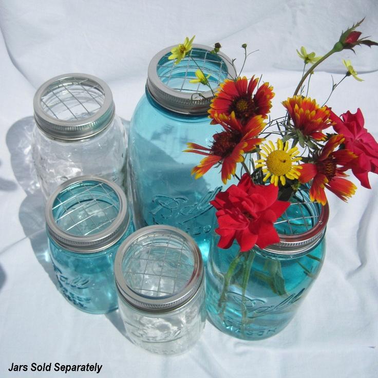 Diy wedding flowers mason jars centerpieces upcycled
