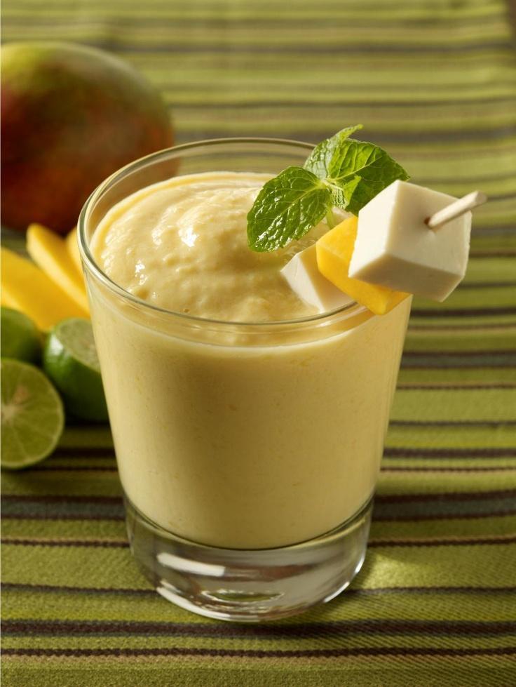 Mango Tofu Smoothie - 7 ounces (½ package) Organic Tofu Soft, drained ...