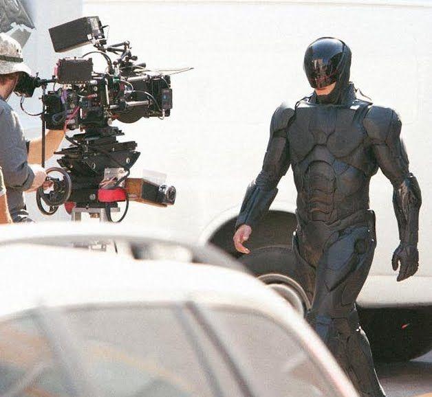 Fotos do novo Robocop