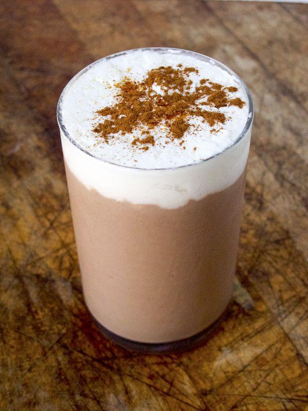 chocolate dessert recipe - tofu chocolate mousse with cinnamon ...