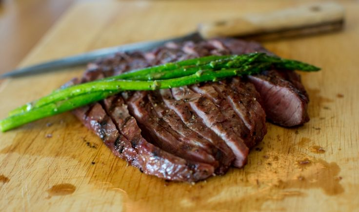 Grilled Flat Iron Steaks with Chimichurri Sauce- @ ...
