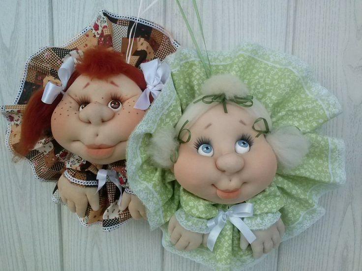 Куклы из капрона мастер класс страна мастеров