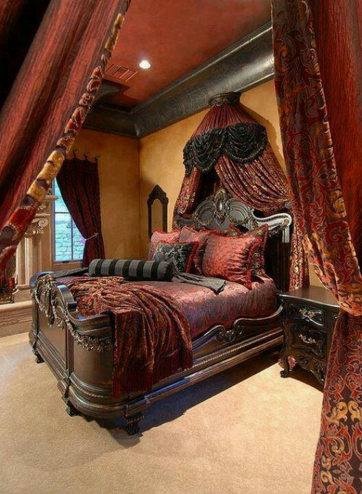 Dark Victorian Bedroom goth bedroom pinterest gothic master bedroom grandiose furniture