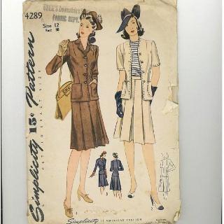 1940S WINTER FASHION PATTERNS - FREE PATTERNS