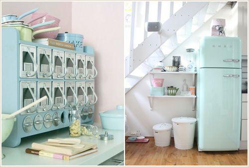 Chambre Adulte Ton Beige : cuisine rétro  Décorationinspiration  Pinterest[R