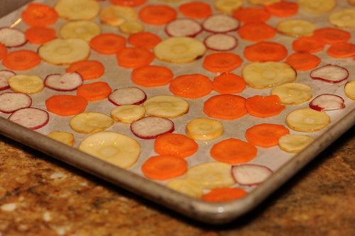Carrot, parsnip, and radish chips!   Healthy & Tasty Recipes   Pinter ...