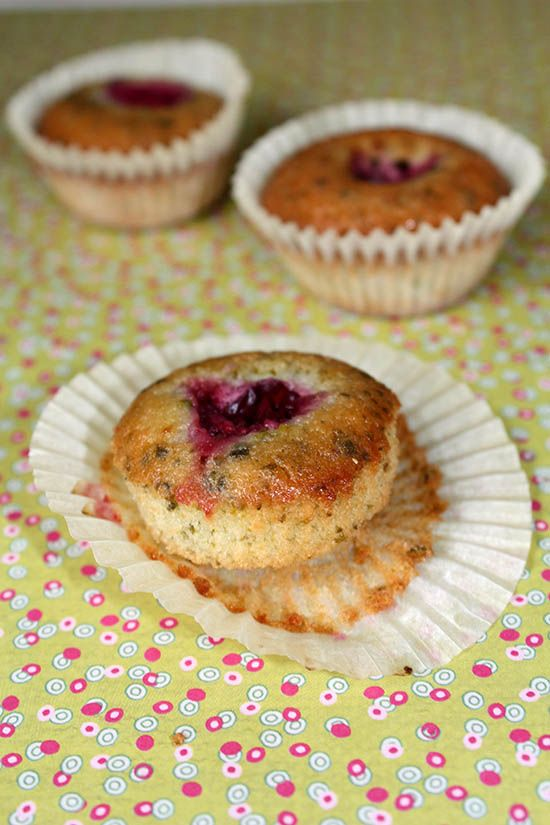 Cherry and Pistachio Financier | French Food | Pinterest