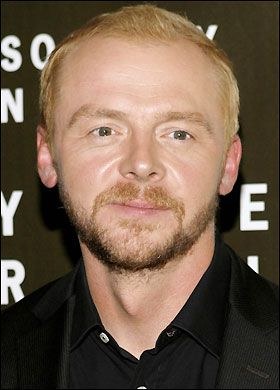 Simon Pegg from Spaced, Shaun of the Dead, Hot Fuzz, and coming up, Paul. He is so funny, I love his stuff.