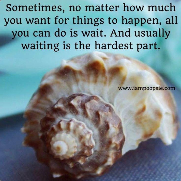 Waiting quote via www.IamPoopsie.com