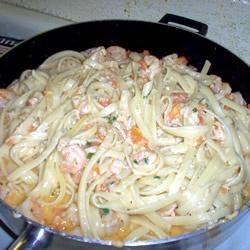 Brandied Shrimp with Pasta Recipe - Allrecipes.com