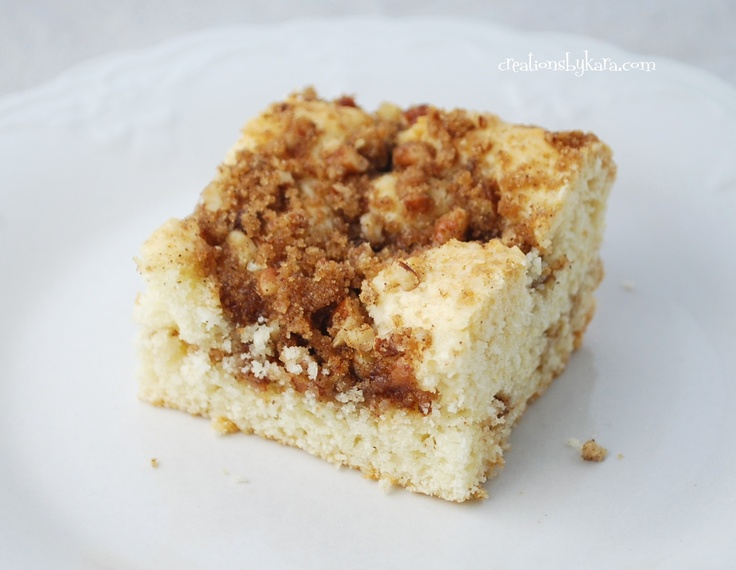 Cinnamon Streusel Coffee Cake Recipe..... My CRAVING right NOW!!! Ugh ...
