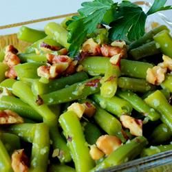Lemon Green Beans with Walnuts | Vegetarian/Vegan Yummy-ness | Pinter ...