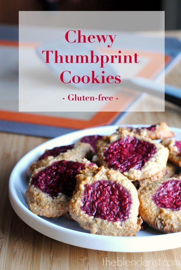The Blenderist | Thumbprint Cookies – Gluten-free | http ...