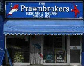 Take away food shop clever business names pinterest for Clever fish names