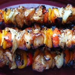 Yummy Honey Chicken Kabobs Had to make these as a stirfry because it ...