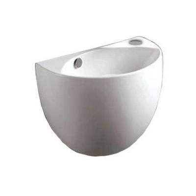 Home Depot Wall Mount Sink : ... Wall Mount Bathroom Sink in White-WHKN1139A-WH at The Home Depot