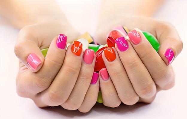 Gel manicure and pedicure | Nail Art | Pinterest