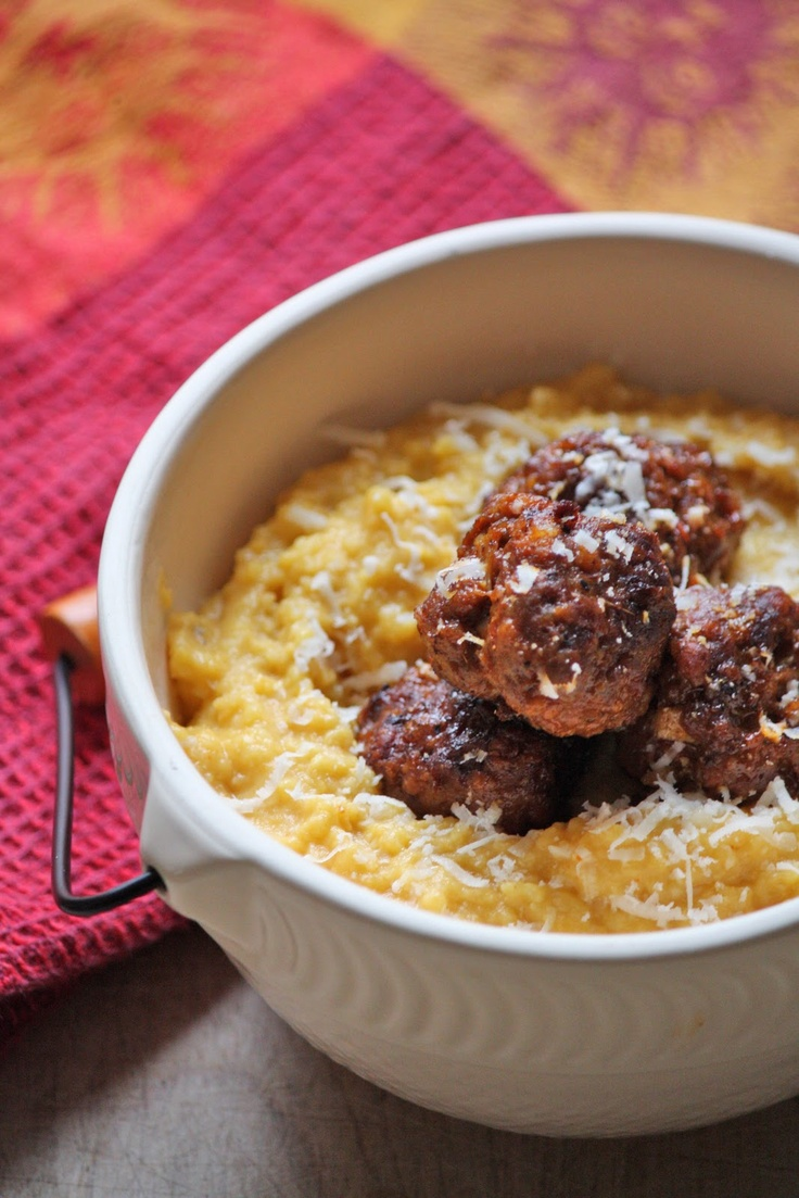 Blog:Honeycomb... Pumpkin Polenta | foods | Pinterest