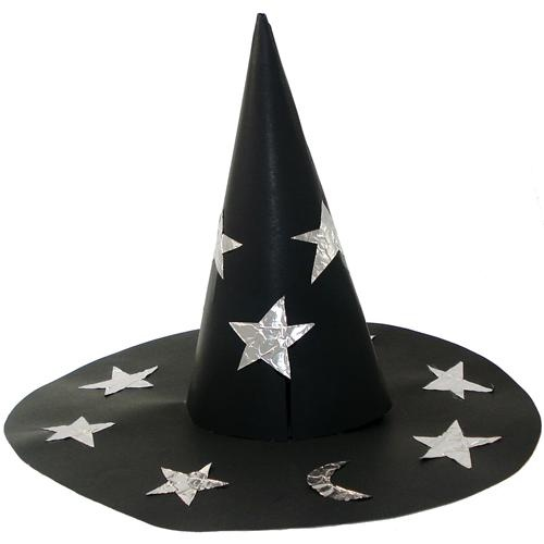 Make a witch's hat and have students write a spooky story about a ...