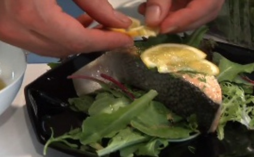 Oven Toaster: Salmon In Toaster Oven