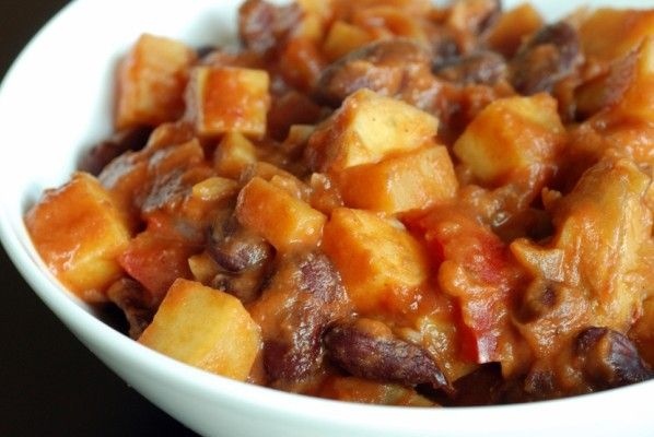 African Sweet Potato Peanut Stew | Food | Pinterest