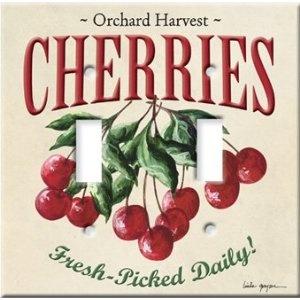 Cherries Switch Plate