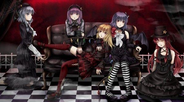TOUHOU Scarlet Devil Mansion Lolita Style