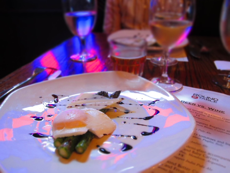 Roasted Asparagus with Shaved Parmigiano Reggiano and Poached Egg Wine ...