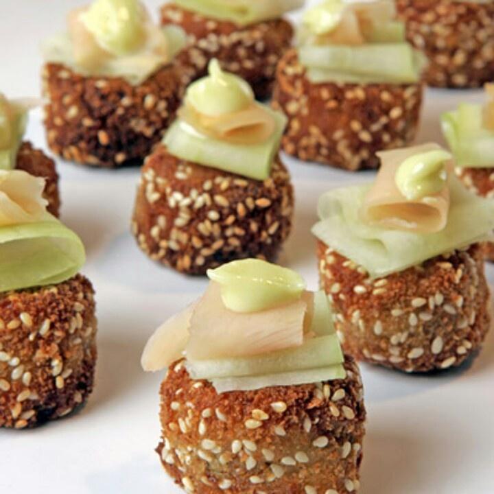 Bite size wasabi & crab cakes! | recipes | Pinterest