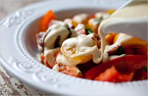 ... for Health - Tomato Salad With Turkish Tahini Dressing - NYTimes.com