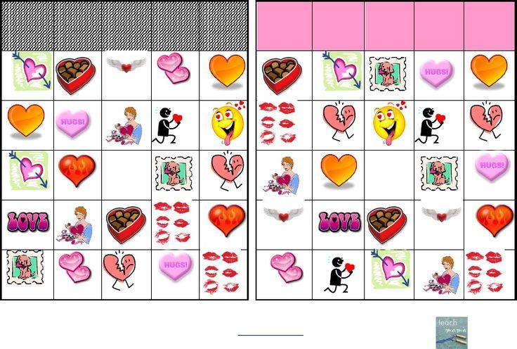 valentine's day bingo for preschoolers