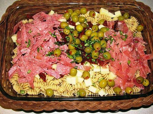Emeril's Antipasto Pasta Salad | Nom Nom Nom | Pinterest