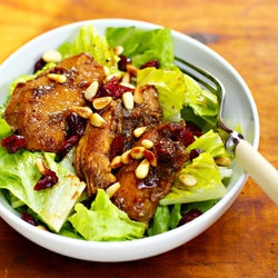 slow cooker pomegranate chicken salad | to devourer | Pinterest