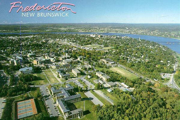 Fredericton (NB) Canada  city photos gallery : Fredericton...1972 | New Brunswick | Pinterest