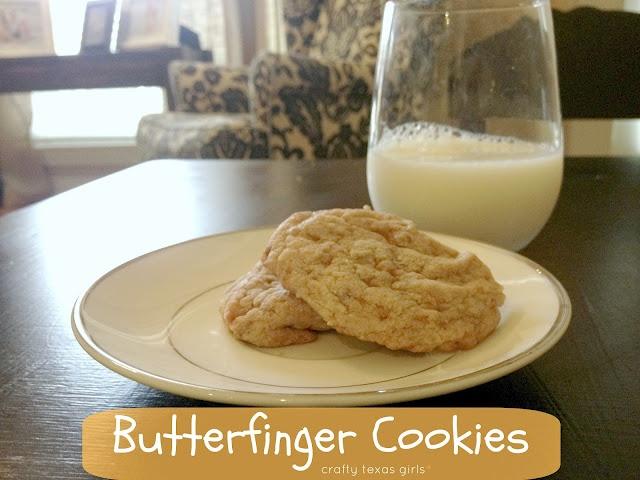 Butterfinger Cookies   Food - Cookies, Brownies, Bars   Pinterest