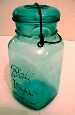 obsessed with this square Ball jar