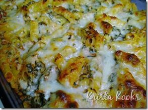 Low Fat Baked Ziti with Spinach Krista Kooks